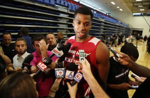 Hassan Whiteside Miami Heat Training Camp