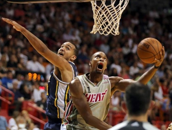 Chris Bosh vs. Utah Jazz--November 12, 2015