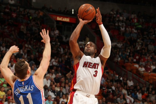 Miami Heat vs. Philadelphia 76ers Game Recap: Wade Makes ...