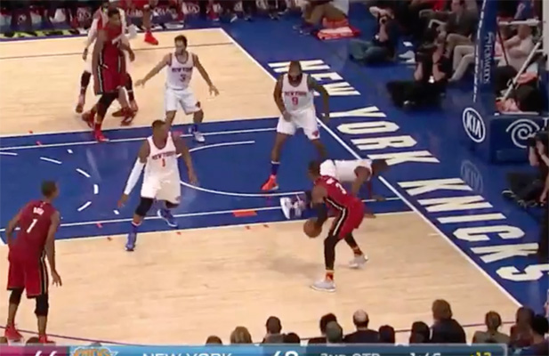 Video: Dwyane Wade Drops His Defender with Nasty Crossover