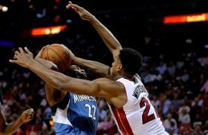 Miami Heat vs. Minnesota Timberwolves Game Recap: Whiteside Dominates but Heat Fall in Fourth
