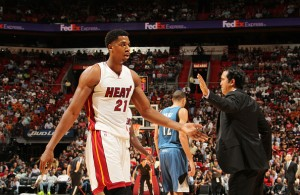 Hassan Whiteside Quickly Becoming One of the Best Centers in the NBA