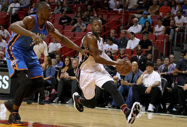Dwyane Wade vs. the OKC Thunder