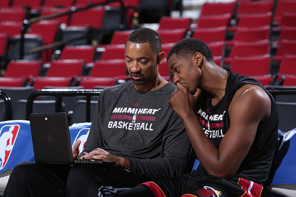 Juwan Howard and Hassan Whiteside