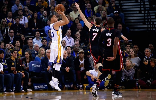 Steph Curry vs. Miami Heat