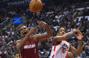 Chris Bosh vs. Toronto Raptors on January 22, 2016