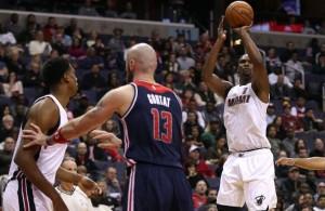 Chris Bosh vs. Washington Wizards--January 3, 2016