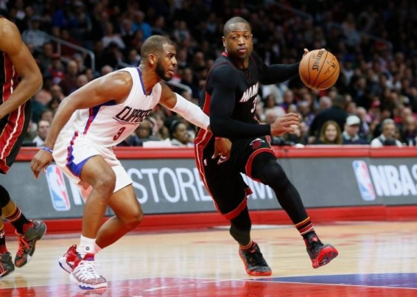 Dwyane Wade vs. Los Angeles Clippers on January 13, 2016