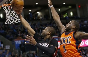Dwyane Wade vs. Oklahoma City Thunder on January 17, 2016