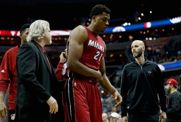 Hassan Whiteside Injury