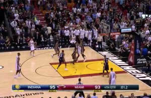Video: Wade Hits Buzzer Beater to Send Game into Overtime