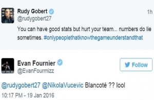 Evan Fournier Throws Shade at Hassan Whiteside