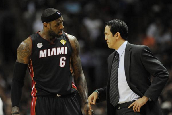 LeBron Left Miami After He Couldn't Get Erik Spoelstra Fired