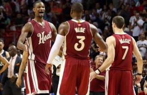 Chris Bosh Dwyane Wade Goran Dragic
