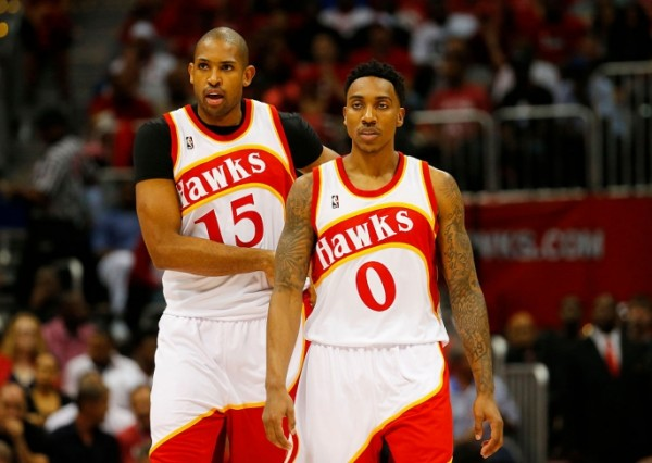 Al Horford and Jeff Teague