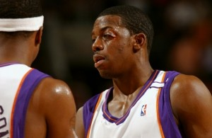 Joe Johnson Eye Injury 2005