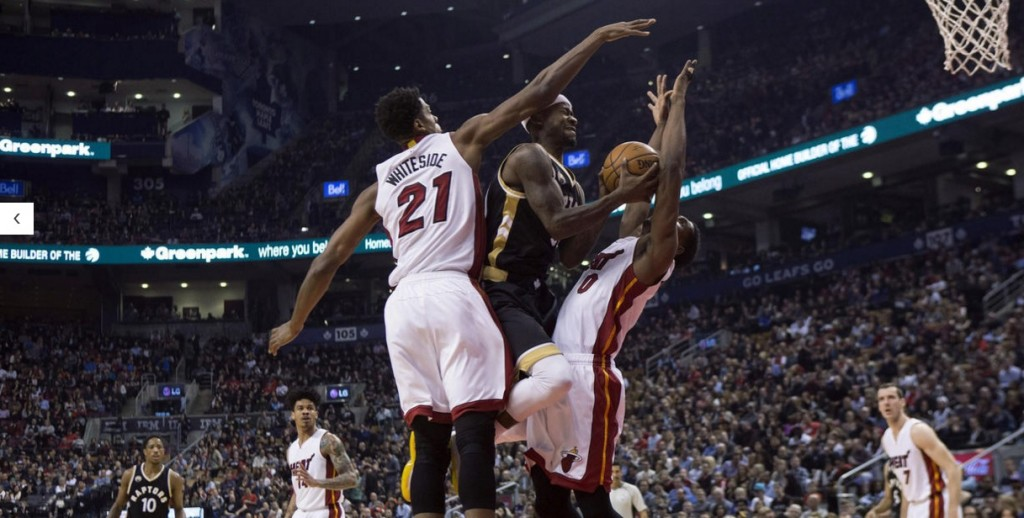 Miami Heat vs. Toronto Raptors on March 12, 2016