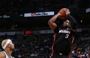 Dwyane Wade vs. Milwaukee Bucks