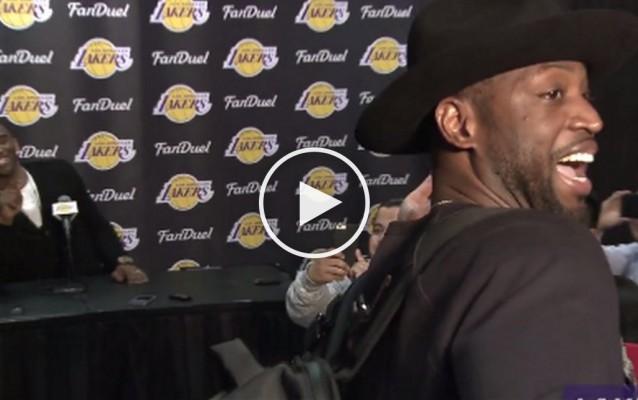 Dwyane Wade Kobe Bryant Press Conference