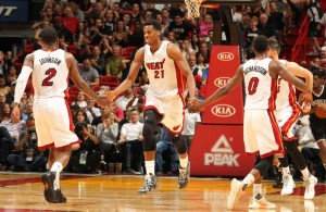 Joe Johnson and Hassan Whiteside