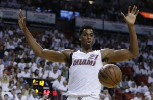 Miami Heat News: Hassan Whiteside (Thigh) Held out of Sunday's Practice