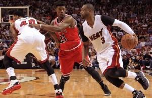 Dwyane Wade vs. Chicago Bulls on April 7, 2016