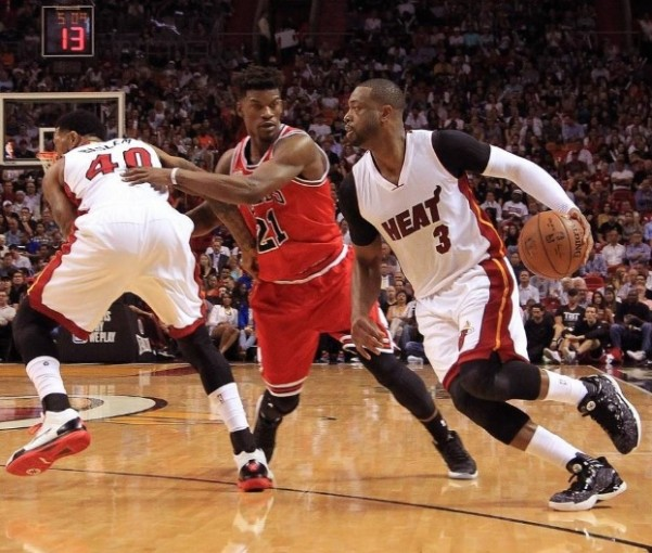 Dwyane Wade vs. Chicago Bulls on April 7, 2016