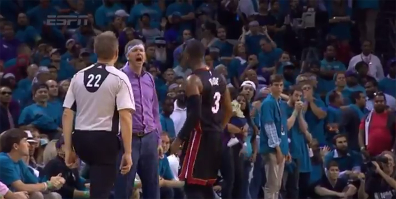 Video: Dwyane Wade Has Some Words for Heckler After Go-Ahead ...