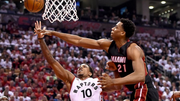Hassan Whiteside DeMar DeRozan