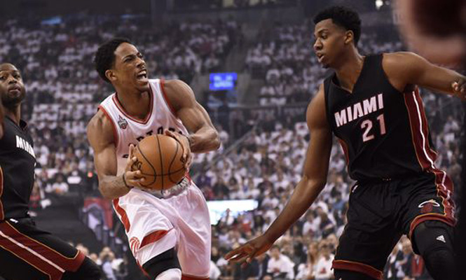 Demar derozan hassan whiteside