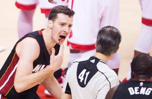 Goran Dragic Bloody Mouth Game 2