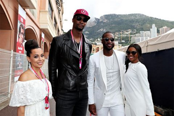 Dwyane Wade, Chris Bosh Vacationing Together Overseas