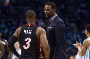 Chris Bosh Dwyane Wade Charlotte Hornets