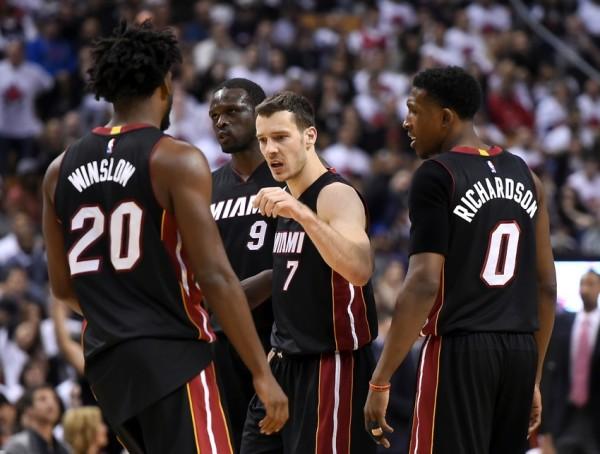 NBA: Playoffs-Miami Heat at Toronto Raptors