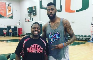 Stanley Remy and Willie Reed