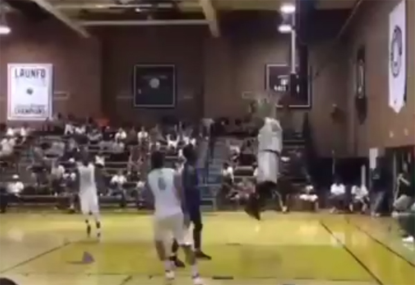 Hassan Whiteside Los Angeles Drew League