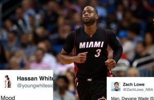NBA Twitter Reacts to Dwyane Wade's Shocking Departure