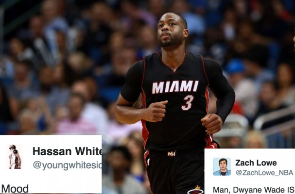 NBA Twitter Reacts to Dwyane Wade's Shocking Departure