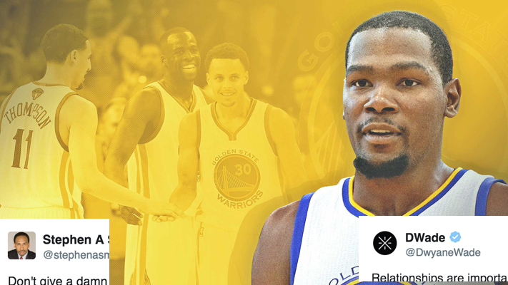 681ba05f363 NBA Twitter Reacts to Kevin Durant Joining Golden State Warriors