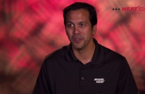 Erik Spoelstra Miami Heat Interview