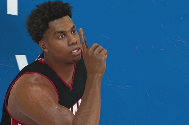 Hassan Whiteside NBA 2K17