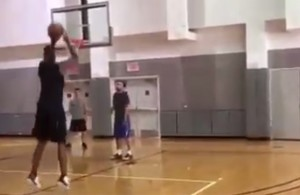 Video: Chris Bosh Seen Going Through Full Workout