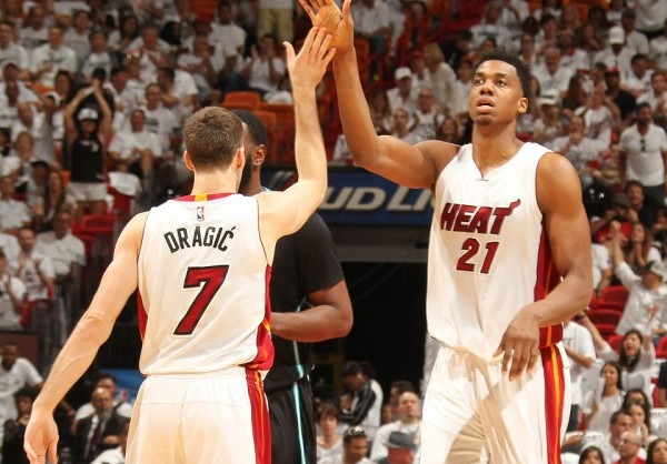 Whiteside and Dragic