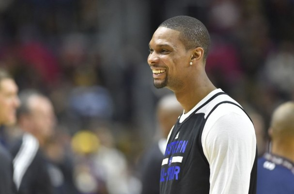 Chris Bosh All-Star Practice