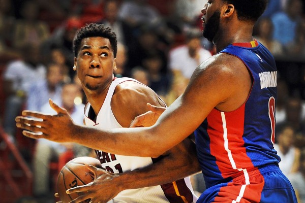 Hassan Whiteside and Andre Drummond