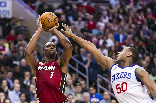 Chris Bosh Jump Shot Miami Heat