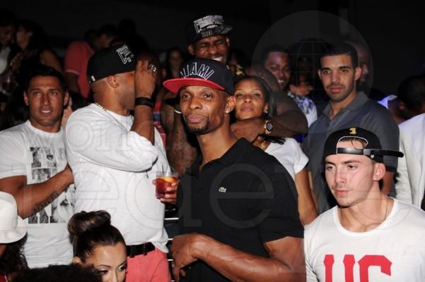 Chris Bosh LeBron Drake