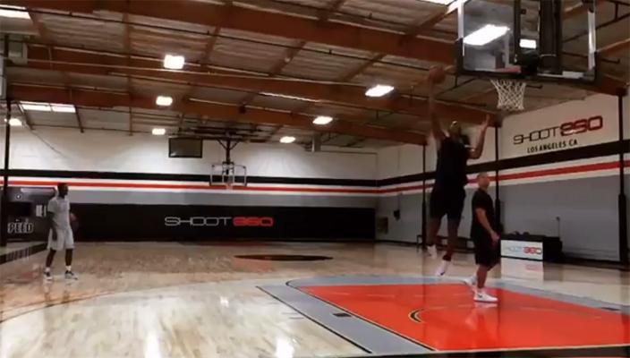 Chris Bosh Training Video