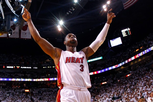 Wade thanks Heat fans with billboard