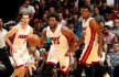 Goran Dragic, Justise Winslow, and Hassan Whiteside
